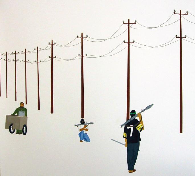 Terrorism, art