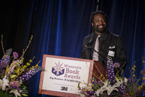 Marlon James. Photo courtesy of The Friends of the Saint Paul Public Library