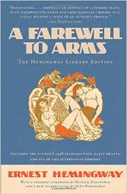 A Farewell to Arms Ernest Hemingway 1st first edition cover