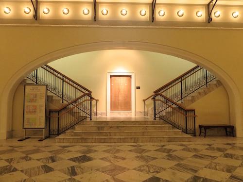 Nashville Public Library lobby