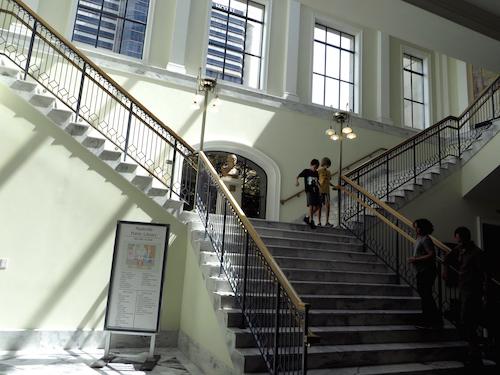 Nashville Public Library staircase