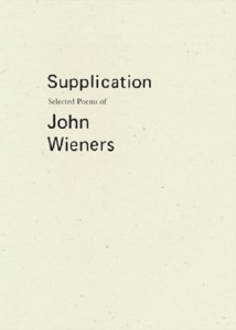supplication john wieners