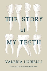 the story of my teeth, luiselli