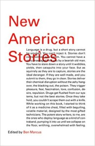 New American Stories, edited by Ben Marcus