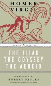 The Iliad, The Odyssey, The Aeneid
