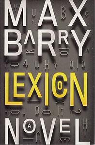 Lexicon (2013), Max Barry