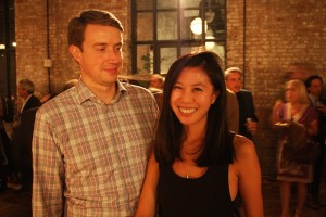 Mark Hendel and Florence Lui.