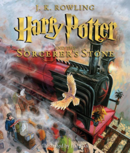Harry Potter and the Sorcerer's Stone: The Illustrated Edition, by J.K. Rowling & Jim Kay