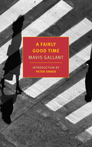 mavis gallant a fairly good time