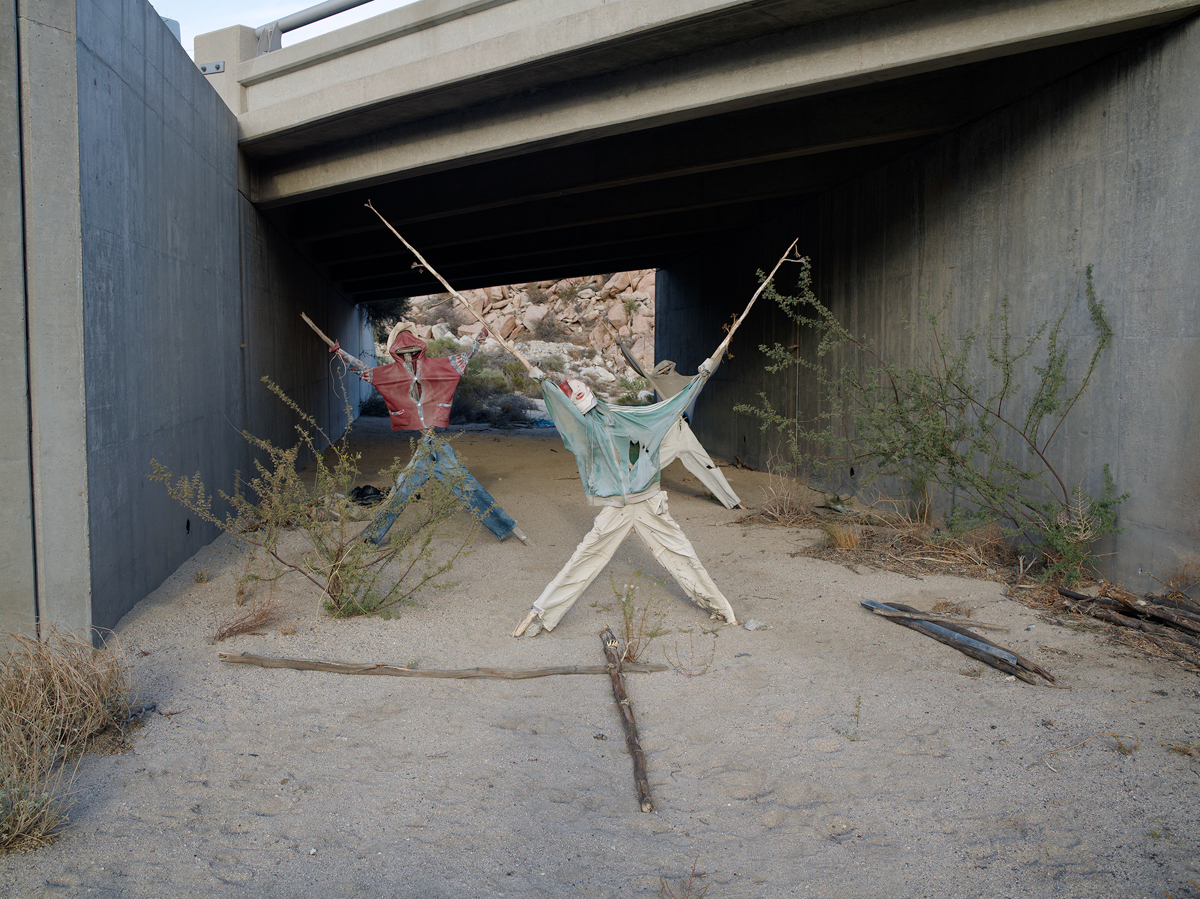 Effigy #2, near Jacumba, California, 2009