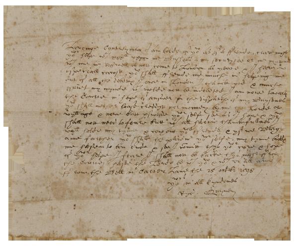 Shakespeare Letter