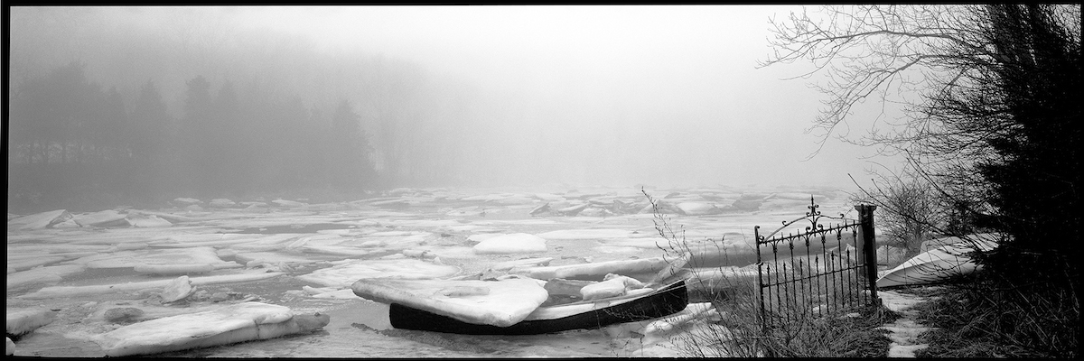 Ice Floes, Walker Creek, 2000