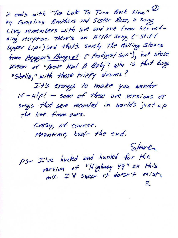 stephen king letter