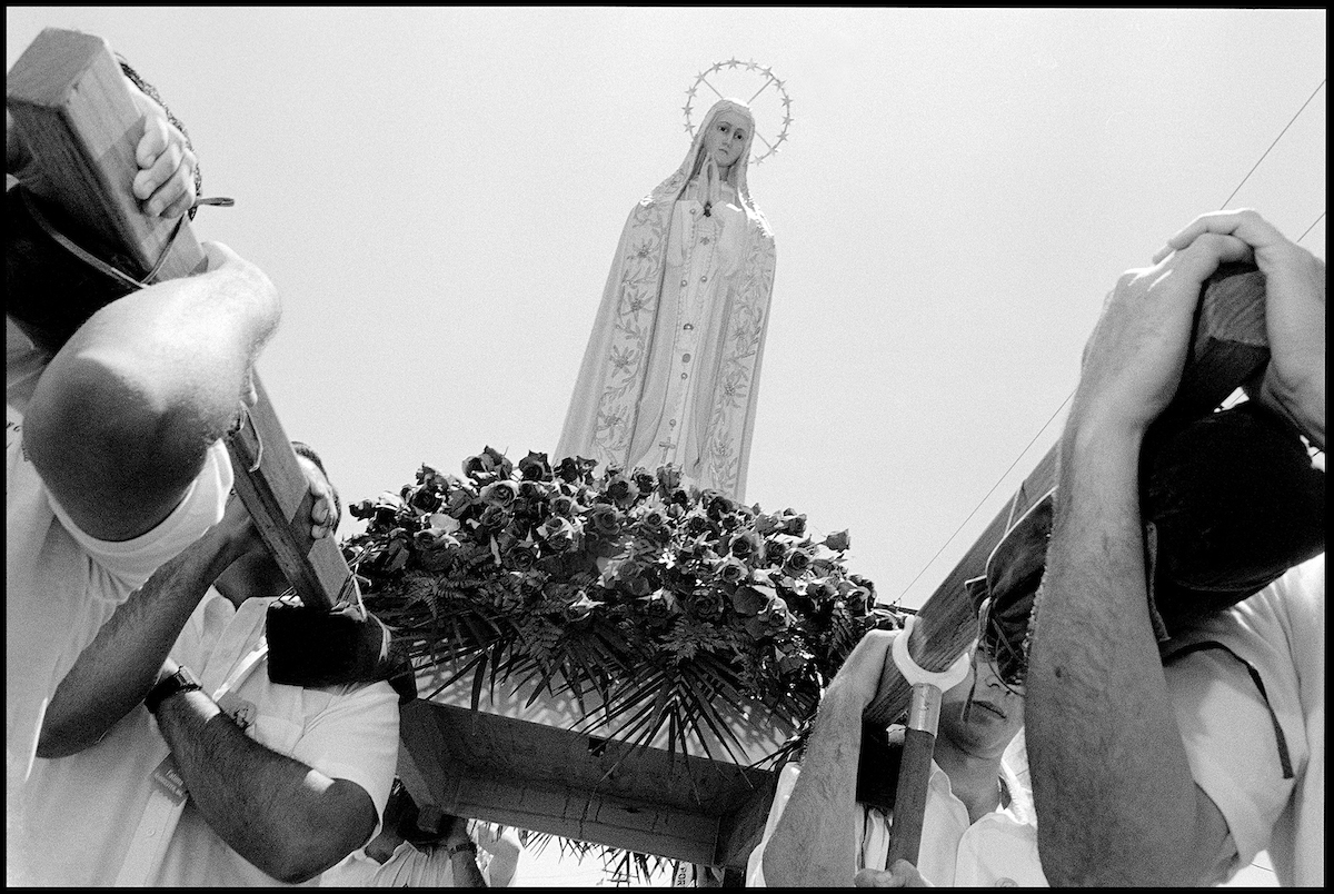 Sunday Procession, St. Peter's Fiesta, 1997
