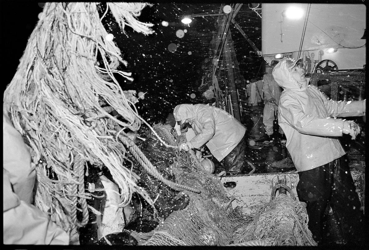 Winter Storm, Joseph & Lucia II, Georges Bank,1980