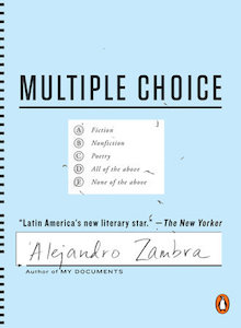 multiple choice cover