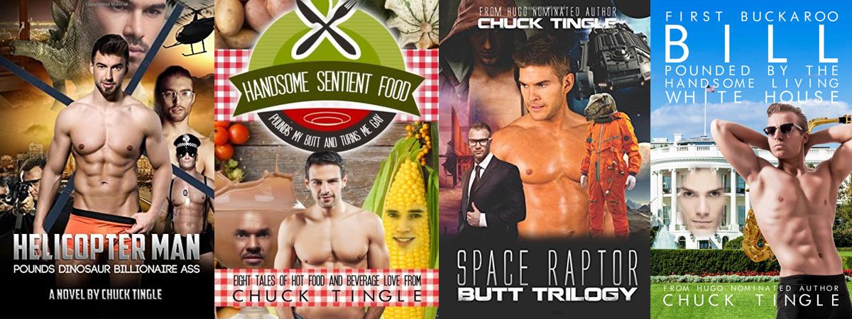 Chuck Tingle covers