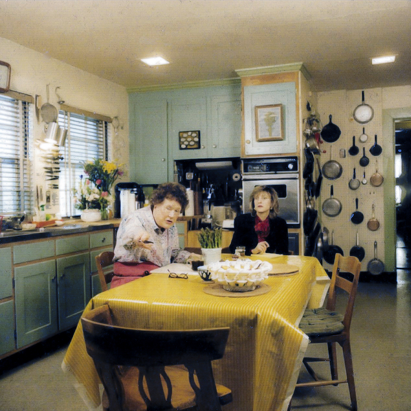 Pamela Heyne interviewing Julia Child