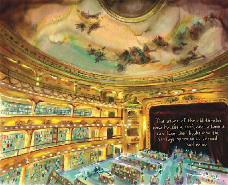 Footnotes from the World's Greatest Bookstores Bob Eckstein ateneo grand splendid