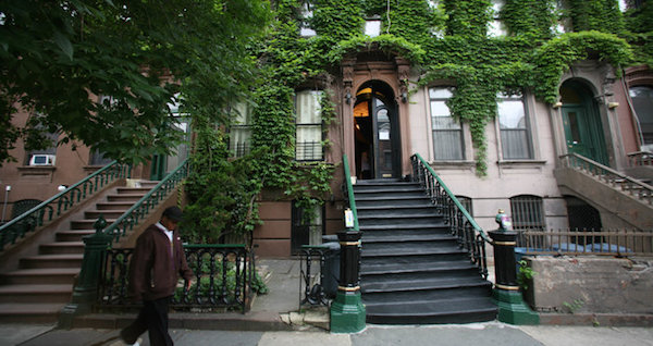 langston hughes harlem brownstone