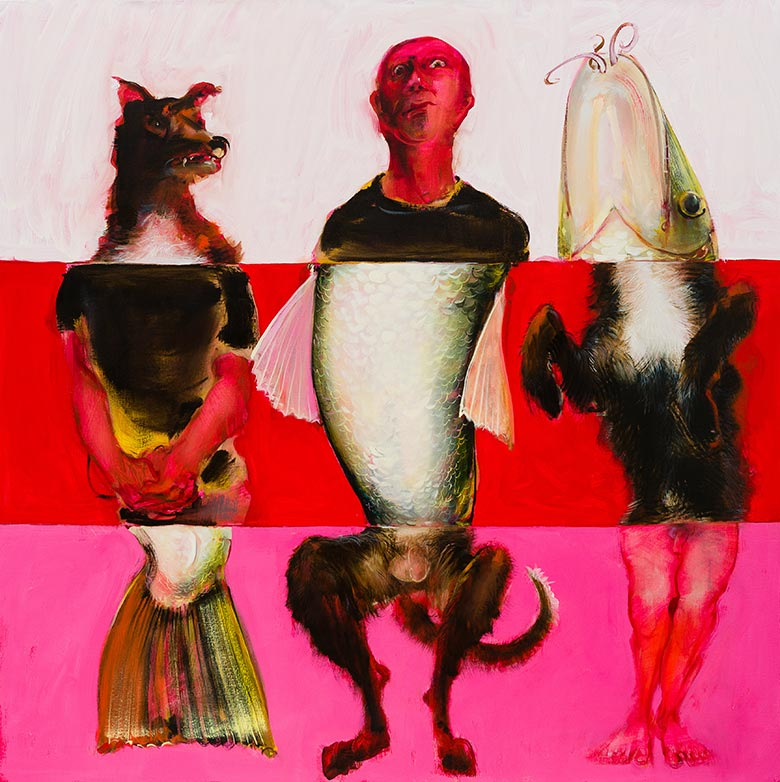 Nicola Bealing, The Misfits, 2014. From Strange Worlds: The Vision of Angela Carter