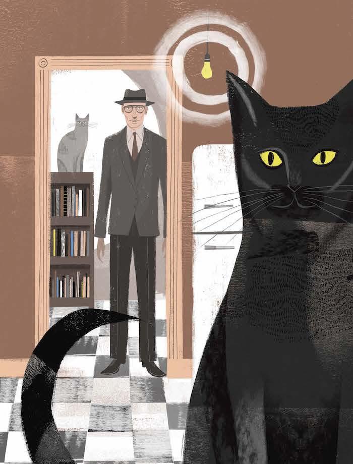 William Burroughs cats