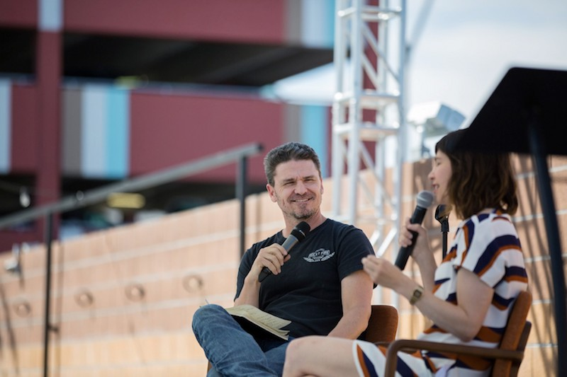 dave eggers carrie brownstein the believer american dreams festival