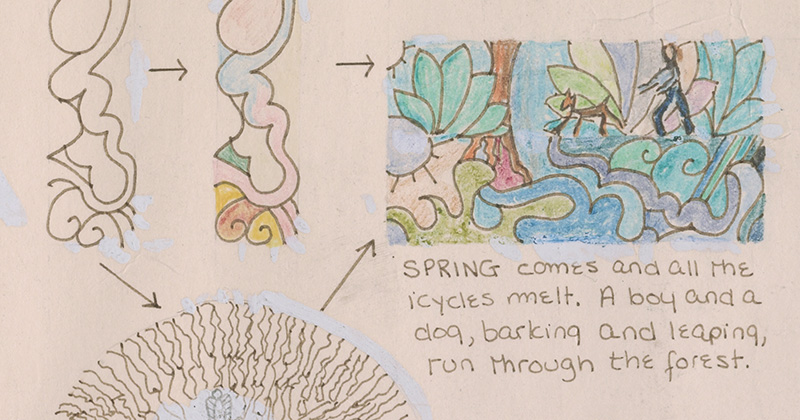 See The Detailed Diagrams Kathy Acker Drew Of Her Dreams