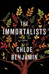 Chloe Benjamin, The Immortalists, design and illustration by Sandra Chiu (Putnam)