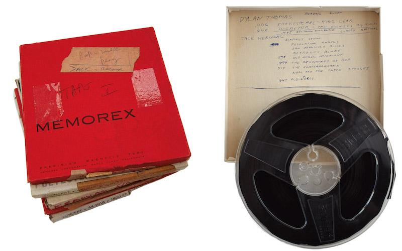 Jack Kerouac Reel-to-Reel Recordings