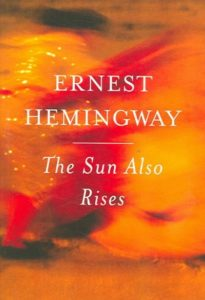 The Sun Also Rises book cover