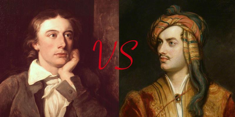 Keats vs. Byron