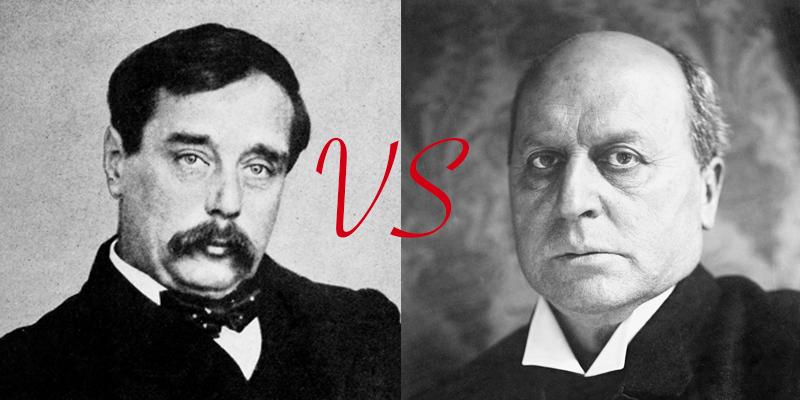 H.G. Wells vs. Henry James