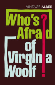 who's afraid of virginia woolf book cover