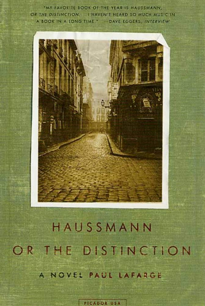haussmann or the distinction lafarge