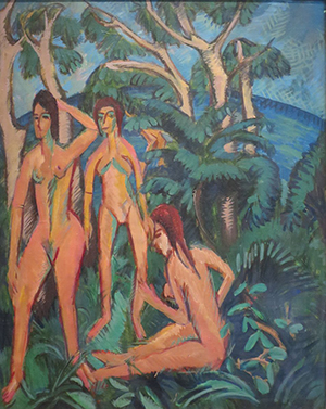 Bathers Beneath a Tree Ernst Ludwig Kirchner