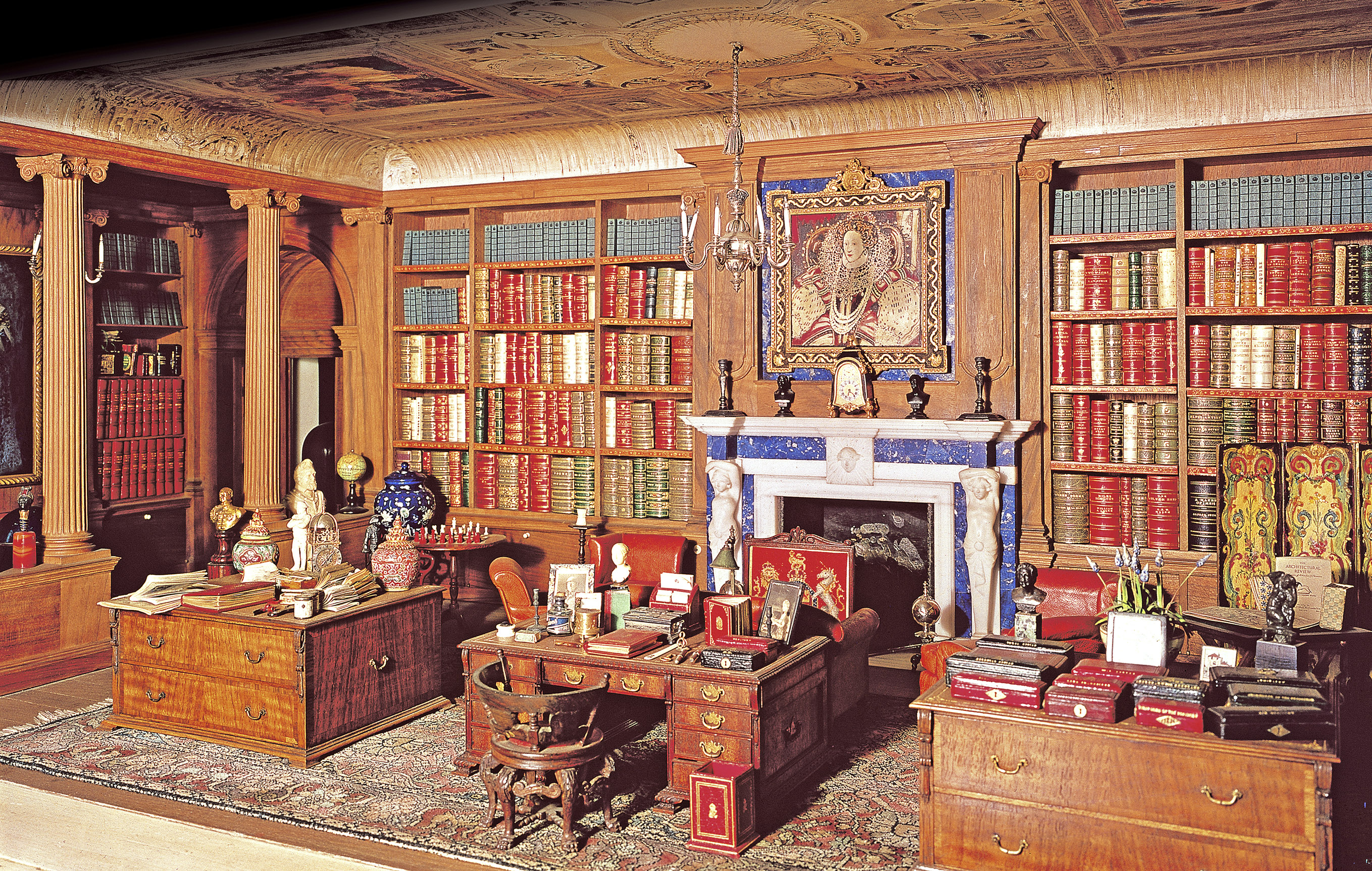 Queen Mary's Dolls' House library