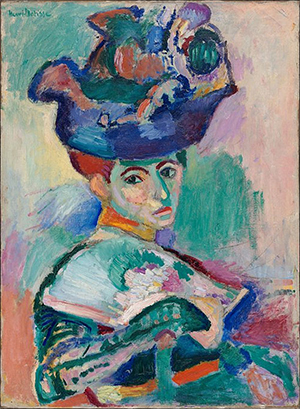 Woman with a Hat Henri Matisse