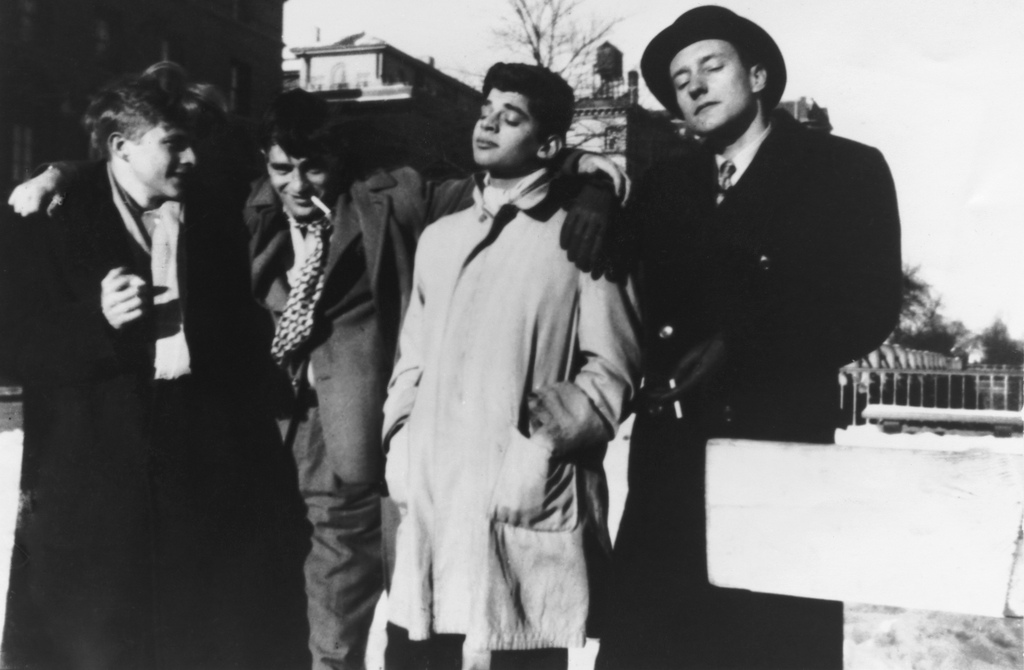 Hal Chase, Jack Kerouac, Allen Ginsberg, and William S. Burroughs, 1944