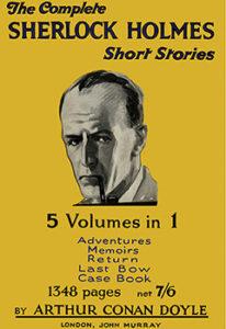 """""""The Final Problem,"""" Sir Arthur Conan Doyle"""