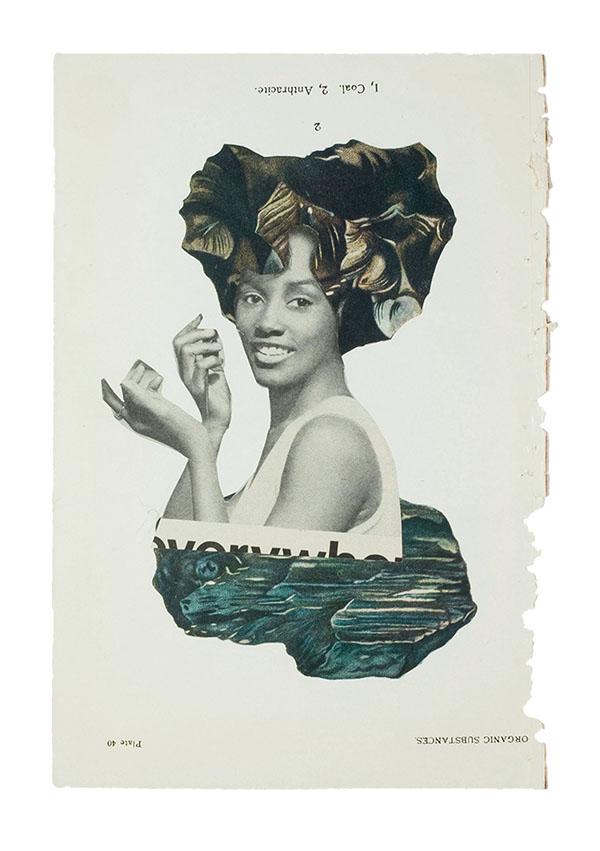 Lorna Simpson collage