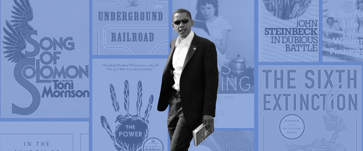 Obama Reading List 2020.All Of The Books President Obama Thinks You Should Read