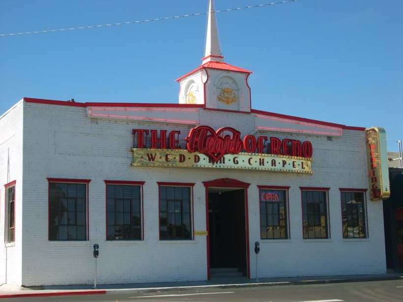 """Heart of Reno"" chapel"