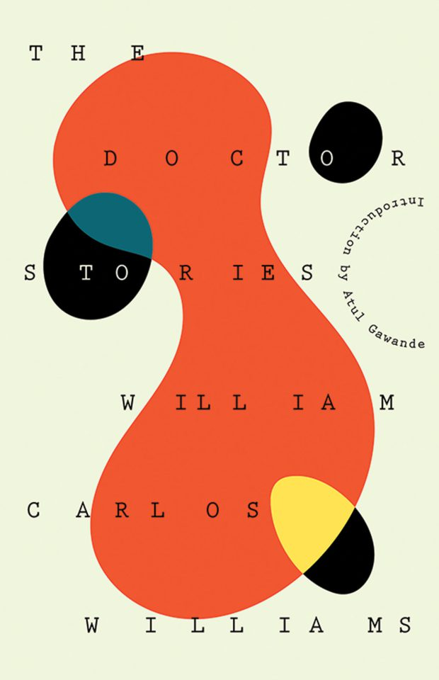 William Carlos Williams, <em>The Doctor Stories</em>, design by Joan Wong (New Directions)