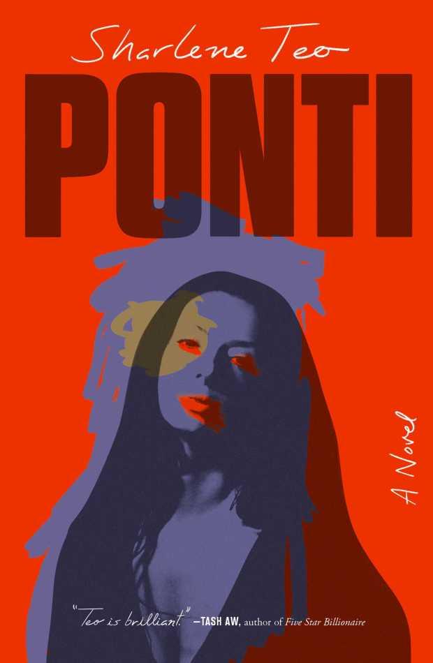 Sharlene Teo, <em>Ponti</em>, design by Tyler Comrie (Simon & Schuster)