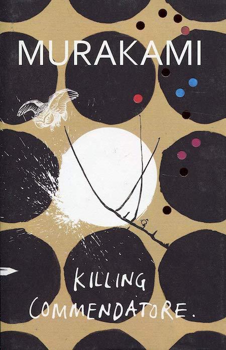 Haruki Murakami, <em>Killing Commendatore</em>,Harvill Secker (UK); design by TK TK (October 9, 2018)