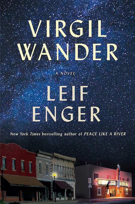 Leif Enger, <em>Virgil Wander</em>,Atlantic Monthly Press; design by TK TK (October 2, 2018)