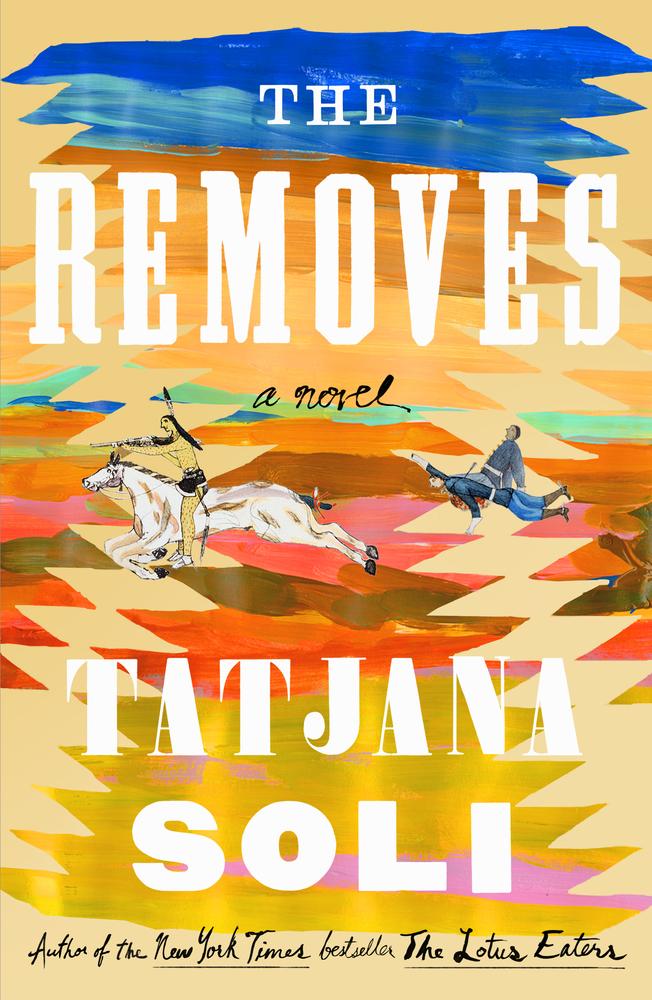 Tatjana Soli,<em>The Removes</em>, designed by TK TK (Sarah Crichton Books)