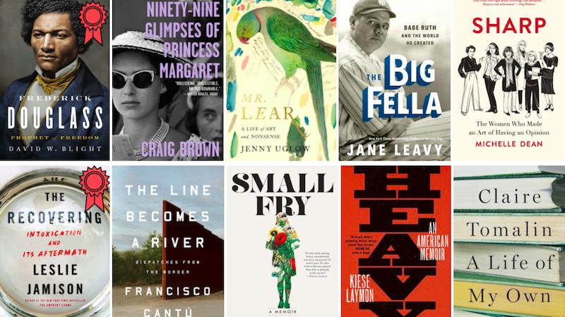 Memoirs, Biographies, Frederick Douglass, Leslie Jamison, Small Fry, Big Fella, Princess Margaret