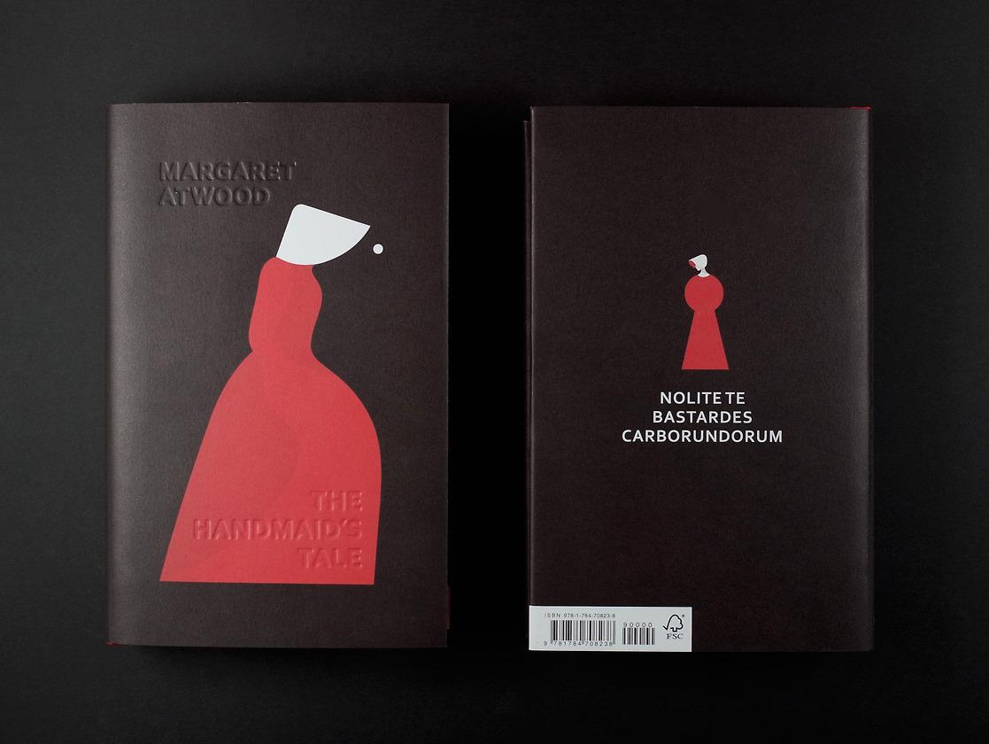 Margaret Atwood, <em>The Handmaid's Tale</em>, illustration by Noma Bar, design by Suzanne Dean (Vintage UK)